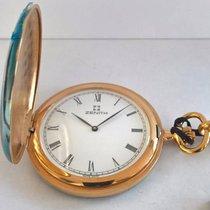 Zenith tasca anni '90 cassa laminata oro full set