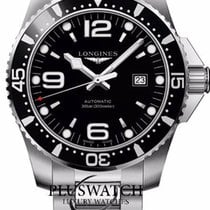 Longines Hydroconquest 44mm Automatic Black Dial T