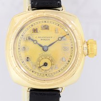Rolex Oyster Perpetual Yellow gold 26mm Gold Arabic numerals