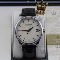 百達翡麗 5227G-001 Calatrava White Gold Automatic