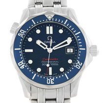 Omega Seamaster 300m Blue Wave Dial Midsize Watch 2223.80.00