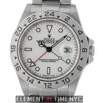 Rolex Explorer II Steel 40mm White United States of America, New York, New York