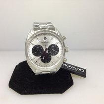 Movado Datron Automatic Chronograph Stainless Steel Men's Watch