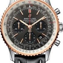 Breitling Navitimer 1 B01 Chronograph 43 neu 2021 Automatik Chronograph Uhr mit Original-Box und Original-Papieren UB0121211F1P1