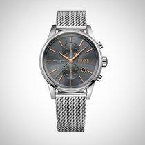 Hugo Boss 1513440 Grey / Silver Stainless Steel Men's Watch