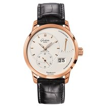 Glashütte Original PanoReserve Red gold 40mm White No numerals