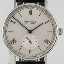 NOMOS Ludwig 38 pre-owned 38mm Leather