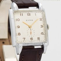 Cyma 27mm Manual winding 1940 pre-owned Silver