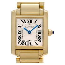 Cartier Tank Française W50002N2 pre-owned