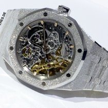 Audemars Piguet Royal Oak Double Balance Wheel Openworked Oro blanco 37mm