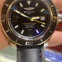 Breitling Superocean 44 Steel 44mm Black Arabic numerals United States of America, Florida, Miami