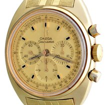 Omega Manual winding Gold No numerals 39mm pre-owned Seamaster