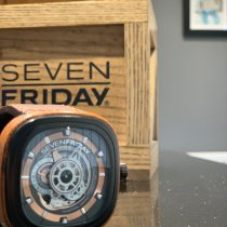 Sevenfriday Steel 47mm Automatic P2B/01 pre-owned United Kingdom, Belfast