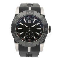 Roger Dubuis Easy Diver Steel 46mm Silver No numerals