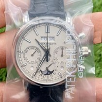Patek Philippe Perpetual Calendar Chronograph Platinum 40mm Silver