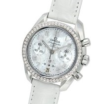 Omega Speedmaster Ladies Chronograph Steel 38mm Mother of pearl