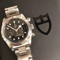 Tudor Black Bay Chrono Steel 41mm Black No numerals