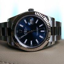 Rolex Datejust II Acier 41mm Bleu Sans chiffres France, Thonon les bains