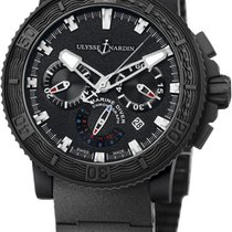 Ulysse Nardin Diver Black Sea Steel 45.8mm Black No numerals United States of America, Florida, Miami