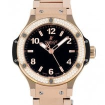 Hublot Big Bang 38 mm Rose gold 38mm Black Arabic numerals