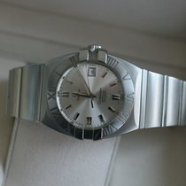 Omega Constellation Double Eagle Staal Zilver