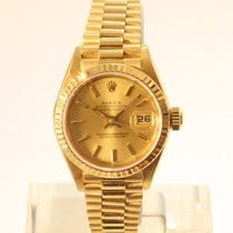 Rolex 69178 Gelbgold 1988 Lady-Datejust 26mm gebraucht