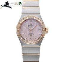 Omega Constellation Ladies Acero 27mm Rosa