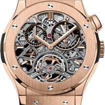 Hublot Red gold Manual winding Transparent new Classic Fusion 45, 42, 38, 33 mm