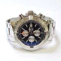 Breitling Super Avenger II Chronograph 48mm Stainless Steel...