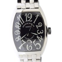 Franck Muller Casablanca black dial all steel