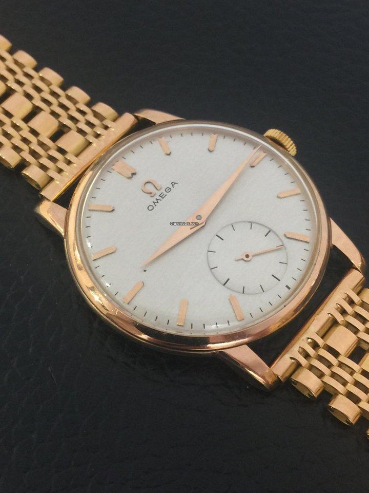 6fb8e4f5d41 Comprar relógios Omega Ouro rosa