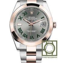 Rolex Datejust nuevo 2018 Automático Reloj con estuche y documentos originales 126301