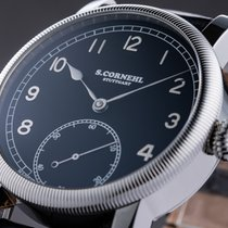 Cornehl 42mm Manual winding new Black