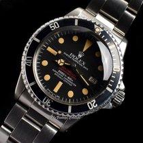 劳力士 Sea-Dweller 钢 40mm 黑色 无数字