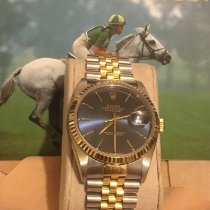 Rolex 16233 Goud/Staal 1988 Datejust 36mm tweedehands