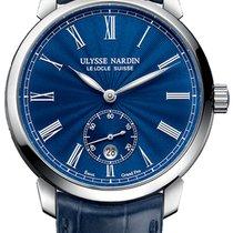 Ulysse Nardin Classico Steel Blue United States of America, New York, Brooklyn