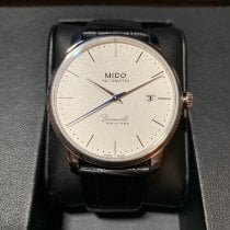 Mido Baroncelli III Steel 39mm White No numerals United States of America, Texas, Cypress