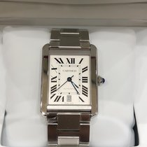 Cartier Steel 31mm Automatic W5200028 new