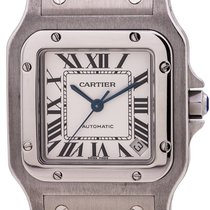 Cartier Santos Galbée Steel 34mm Silver Roman numerals United States of America, California, West Hollywood