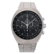 Omega Speedmaster Mark II Steel 41mm Black No numerals