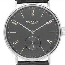 NOMOS Tangomat Ruthenium Steel 38mm Arabic numerals