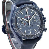Omega Speedmaster Professional Moonwatch Moonphase Ceramic 44mm Blue United States of America, Indiana, Carmel