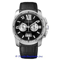 Cartier Calibre de Cartier Chronograph W7100060 new