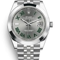 Rolex Datejust II Steel 41mm Grey No numerals United States of America, New Jersey, Woodbridge