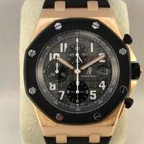 Audemars Piguet Royal Oak Offshore Chronograph Roségoud 42mm Grijs Arabisch Nederland, Kerkrade