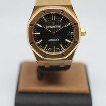Audemars Piguet Royal Oak Selfwinding Rose gold 37mm Black No numerals United States of America, California, SAN DIEGO