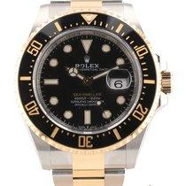Rolex Sea-Dweller Gold/Stahl 43mm Schwarz