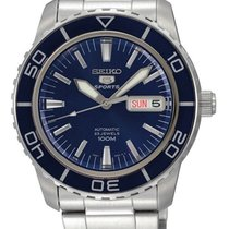 Seiko 5 Sports Steel 42mm Blue