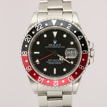 Rolex 16760 Steel 1986 GMT-Master II 40mm pre-owned United States of America, Florida, Miami Beach