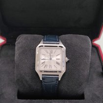 Cartier new Quartz 43.5mm Steel Sapphire crystal
